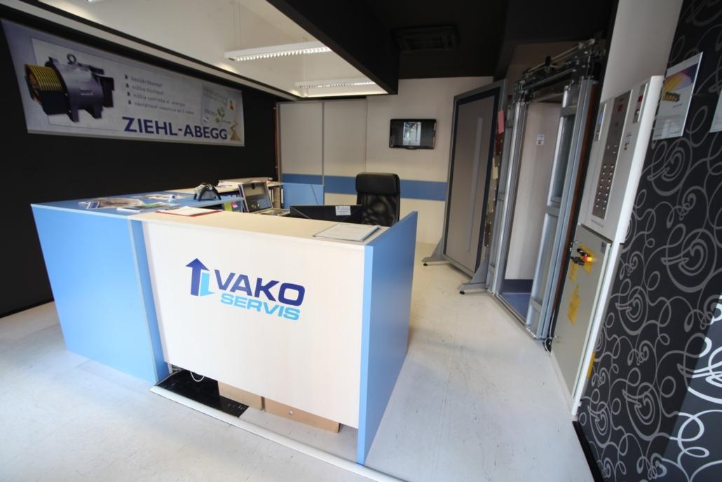 VAKOSERVIS - showroom